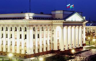 Здание администрации Тюменской области