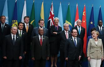 Саммит G20 в Австралии, 2014 год