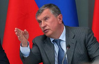 """Президент компании """"Роснефть"""" Игорь Сечин"""