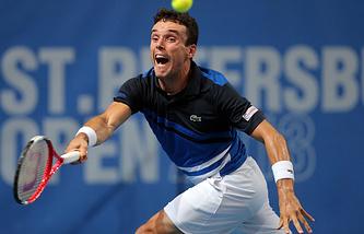 Испанский теннисист Роберто Баутиста Агут