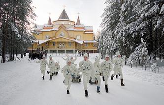Великий Устюг. В резиденции Российского Деда Мороза