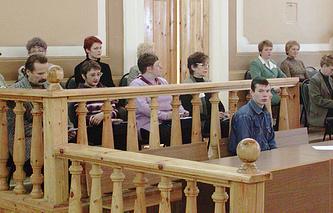 Первый суд присяжных состоялся в Нижнем Новгороде, 2003 год