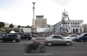 Площадь Независимости в Киеве, архив