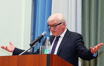 Министр иностранных дел Германии Франк-Вальтер Штайнмайер на лекции в Уральском федеральном университете