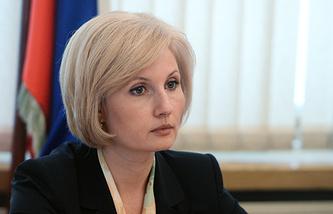 Глава комитета Госдумы по труду, соцполитике и делам ветеранов Ольга Баталина