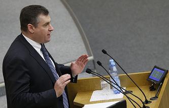 Председатель комитета Госдумы по делам СНГ, евразийской интеграции и связям с соотечественниками Леонид Слуцкий