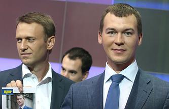 Алексей Навальный и Михаил Дегтярев