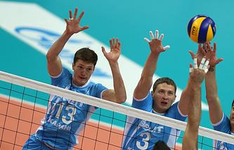 """Волейболисты """"Зенита"""""""