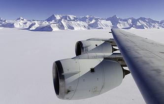 Массив Винсон в Антарктиде