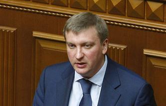Министр юстиции Украины Павел Петренко