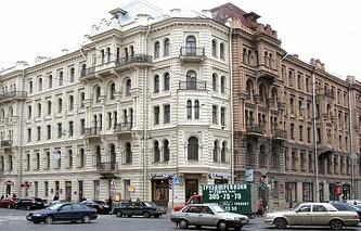 Дом Мурузи на Лиговском проспекте в Петербурге