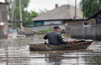 Паводок в Алтайском крае. Архив