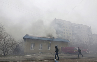 Мариуполь, 24 января 2015 года