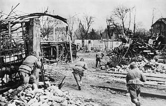 Наступление советских войск в Силезии, 1945 год