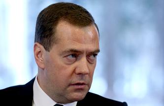 Премьер-министр РФ Д.Медведев