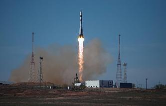 """Запуск РН """"Союз-2.1а"""" с космическим аппаратом """"Бион-М1"""""""