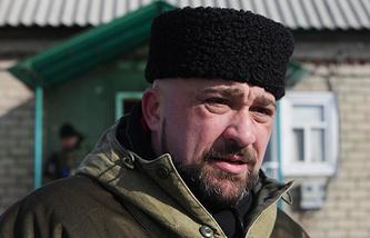 Мэр Дебальцево Александр Афендиков