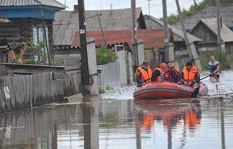 Паводок в Алтайском крае. Июнь 2014 года