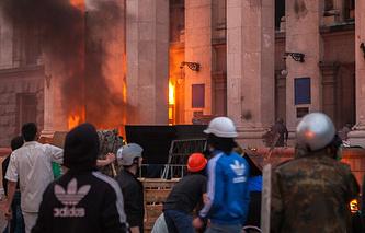События в Одессе 2 мая 2014 года