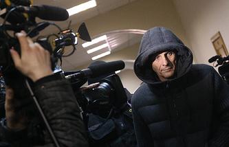 Губернатор Сахалинской области Александр Хорошавин в Басманном суде