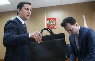Бывший следователь Павел Карпов и адвокат Роман Щербинин