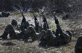 Учения украинских войск