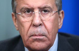 Министр иностранных дел РФ Сергей Лавров