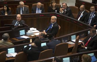 Заседание израильского парламента