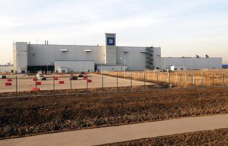 Производственная площадка GM в Санкт-Петербурге