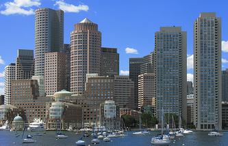 Деловой центр Бостона