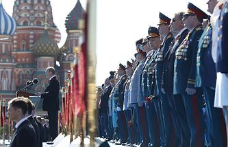 Парад на Красной площади, 2014 год