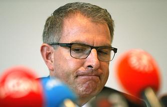 Председатель правления компании Lufthansa Карстен Шпор