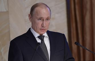 Владимир Путин на заседании коллегии Федеральной службы безопасности