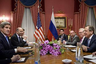 Двусторонние переговоры России и США в Лозанне