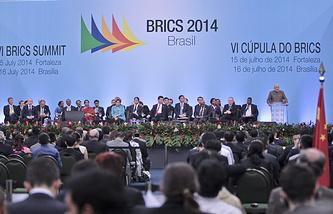 Саммит БРИКС в Фортелазе , 15 июля 2014 года