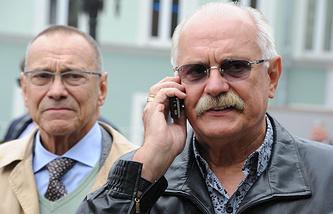 Андрей Кончаловский и Никита Михалков (слева направо)
