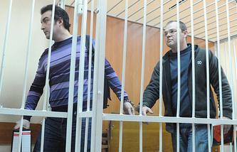 Владимир Мухамедов и Илья Потапов (слева направо) в Бердском городском суде