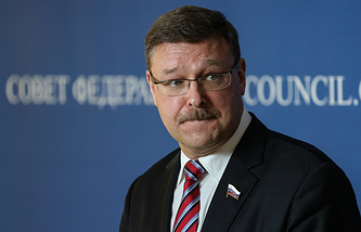 Председатель комитета Совета Федерации по международным делам Константин Косаче