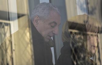 Александр Солодкин-старший и адвокат Татьяна Титова