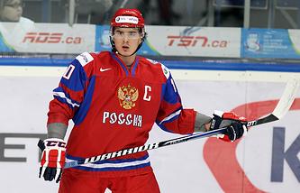Наиль Якупов в составе молодежной сборной России