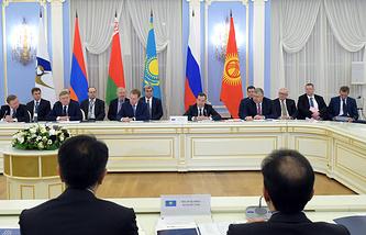Заседание межправительственного совета ЕАЭС, 6 февраля 2015 года