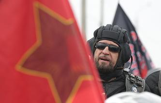 """Лидер мотоклуба """"Ночные волки"""" Александр """"Хирург"""" Залдостанов"""