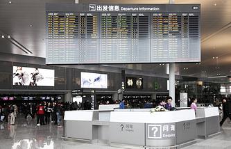 Международный аэропорт в Шанхае