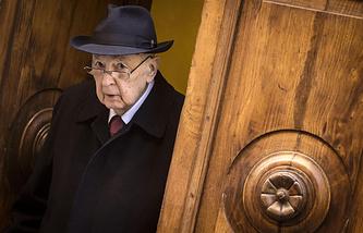 Экс-президент Италии Джорджо Наполитано