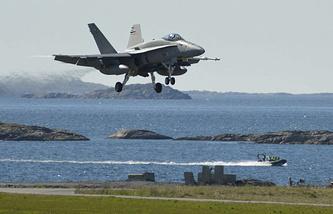 Военно-воздушные учения Arctic Challenge Exercise 2015 в Норвегии