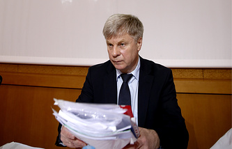 Президент РФС Николай Толстых