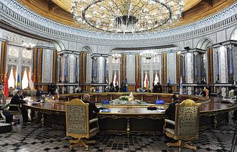 Заседание совета ШОС