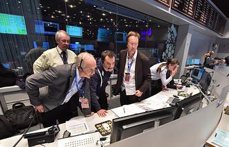 Трансляция посадки модуля Philae на поверхность кометы Чурюмова-Герасименко