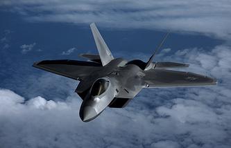 Истребитель F-22 ВВС США