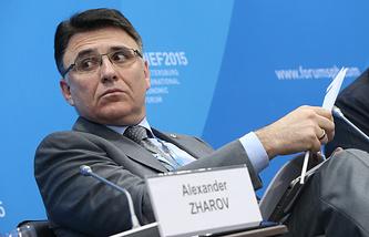 Руководитель Федеральной службы по надзору в сфере связи, информационных технологий и массовых коммуникаций Александр Жаров